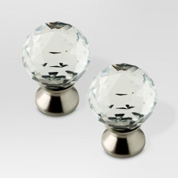 Crystal Knob - 2 pack - Threshold™