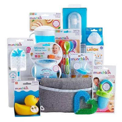 Munchkin Hello Baby Gift Basket - Blue