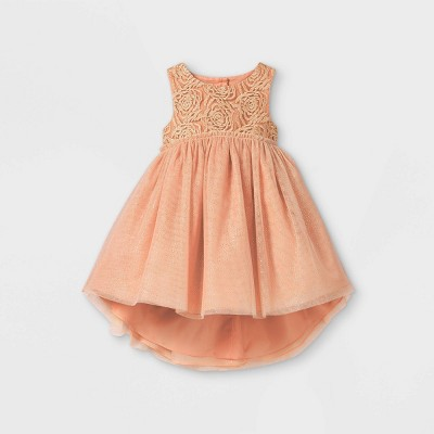 Mia & Mimi Toddler Girls' Floral Tank Dress - Pink