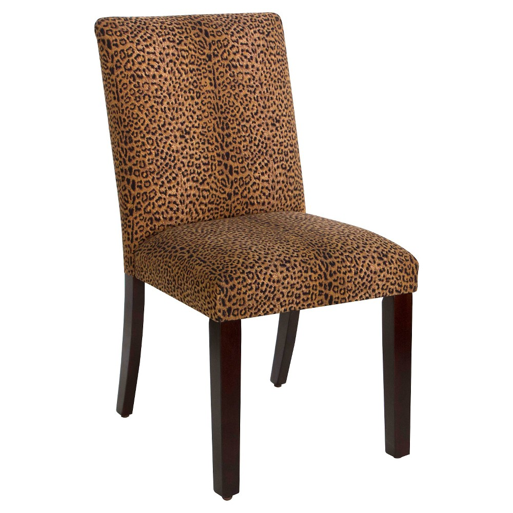 Uptown Dining Chair - Cheetah Print - Skyline Furniture