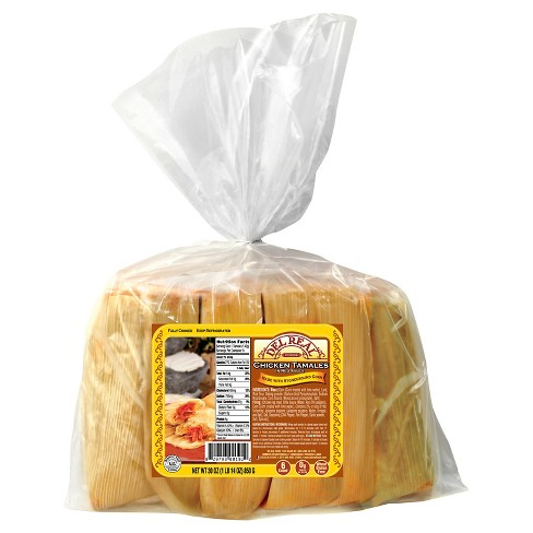 Del Real Foods Chicken Tamales In Red Sauce - 30oz - image 1 of 1