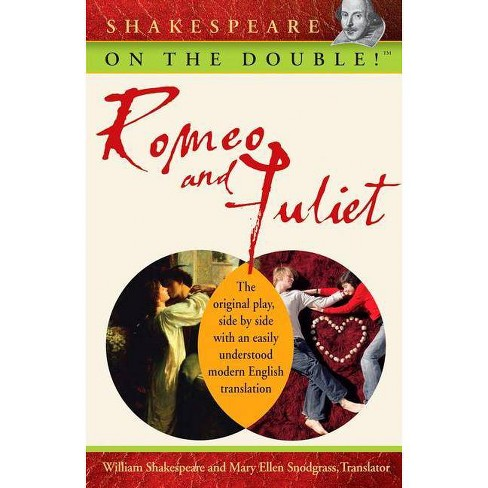 Romeo and Juliet - (Shakespeare on the Double!) by  William Shakespeare (Paperback) - image 1 of 1
