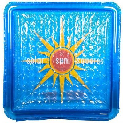 Solar Sun Rings SSSA-SB-02 UV Resistant Above Ground Inground Swimming Pool Hot Tub Spa Heating Accessory Square Heater Solar Cover, Sunburst