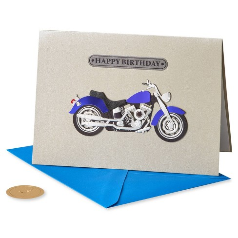 Motorcycle Card - PAPYRUS - image 1 of 4