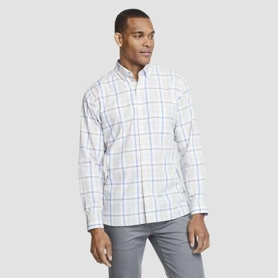 Men's Slim Fit Long Sleeve Never Tuck Button-Down Shirt - Van Heusen