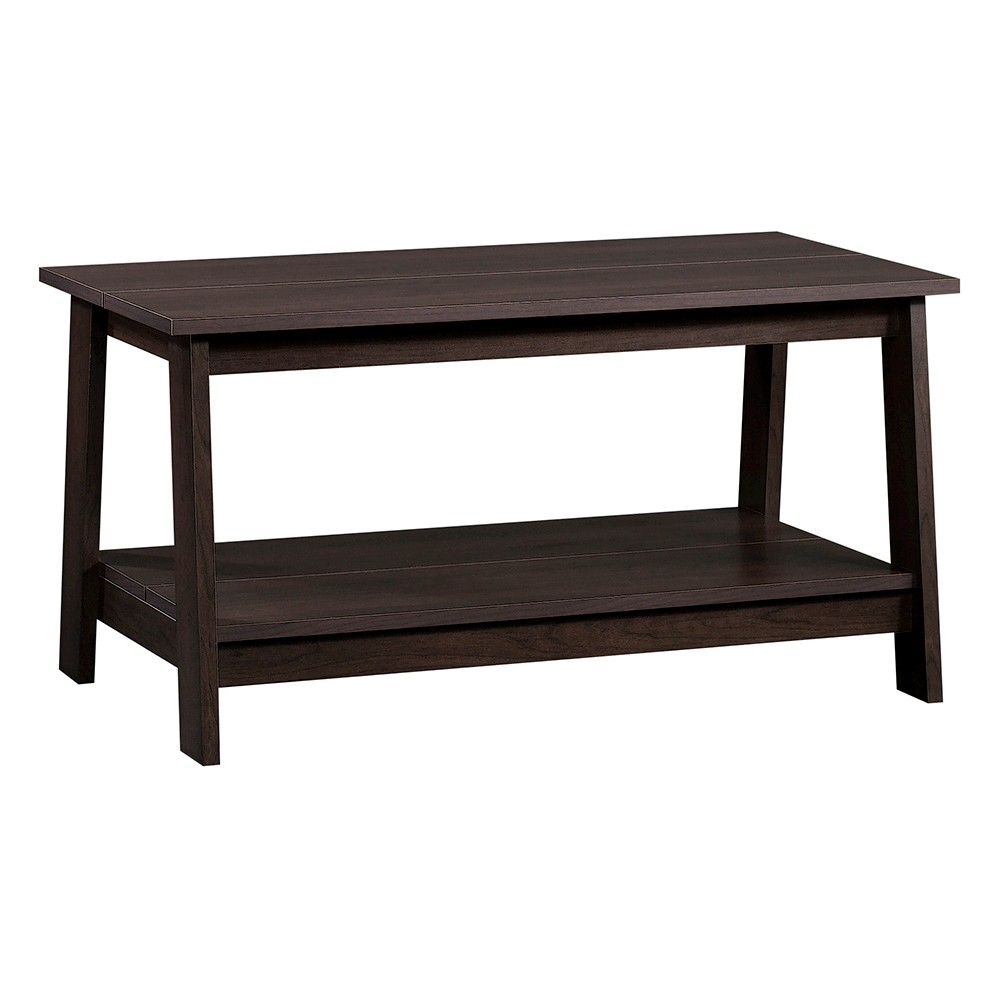 Image of Trestle Coffee Table Espresso - Room Essentials
