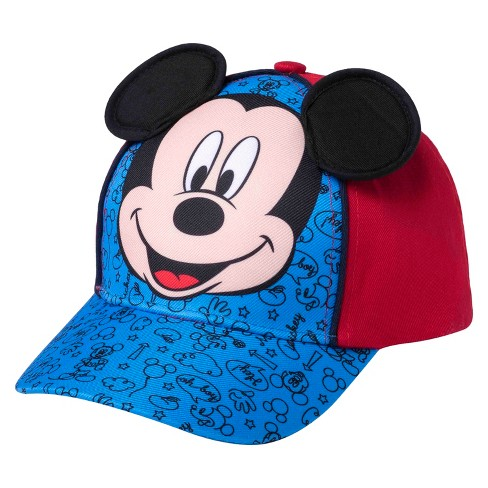 Toddler Boys  Mickey Mouse™ Baseball Hat - Blue   Red   Target d855a4fd53c