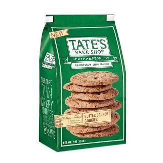 Tates Bake Shop Butter Crunch Cookies - 7oz