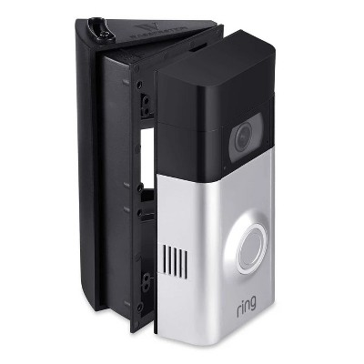 Wasserstein Adjustable Angle Wall Mount for Ring Video Doorbell 1 (1st Gen and 2nd Gen, 2020 Release), Ring Video Doorbell 2 and Ring Video Doorbell 3