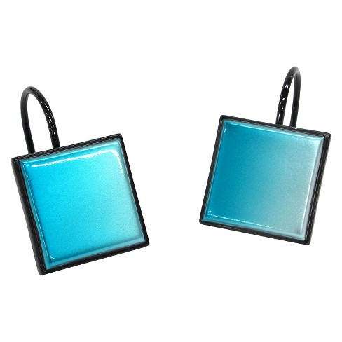 Ombre Boxed Shower Curtain Hooks Target
