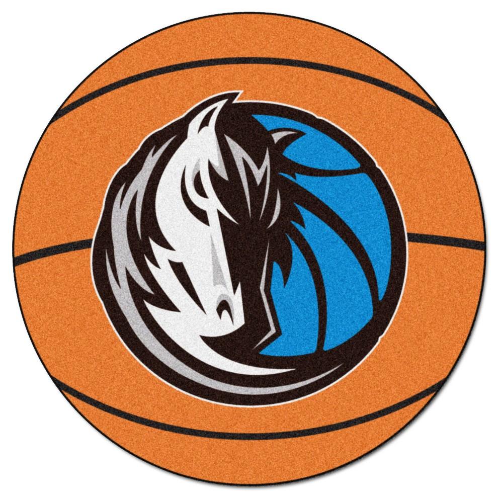 NBA Dallas Mavericks Basketball Mat 27 Diameter