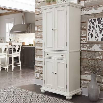 Dover Kitchen Pantry White - Home Styles
