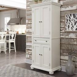 Dover Kitchen Pantry White - Home Styles