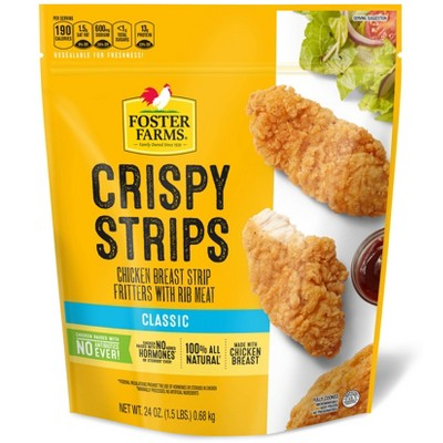 Foster Farms Crispy Chicken Strips - Frozen - 24oz