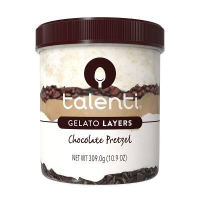 Talenti Gelato Layers Chocolate Pretzel - 10.3oz