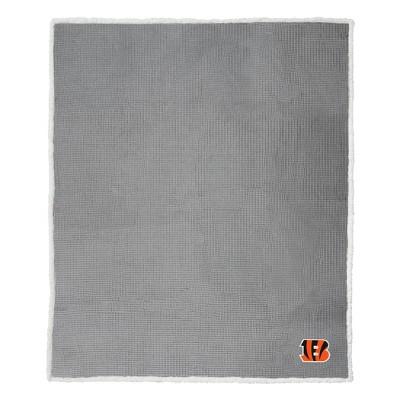 NFL Cincinnati BengalsWaffle Sherpa Throw Blanket