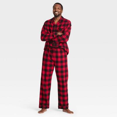 Men's Plaid Flannel Pajama Set - Wondershop™ Red