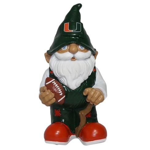 """NCAA Miami Hurricanes Mini 8"""" Gnome - image 1 of 1"""