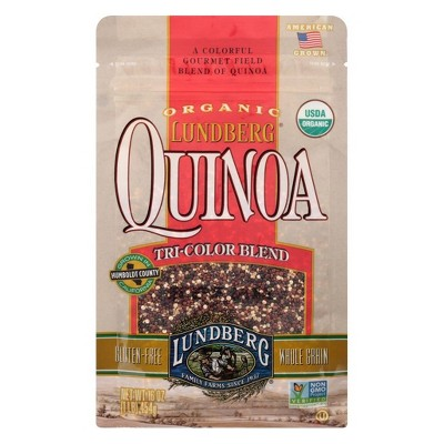 Lundberg Organic Tri-Color Quinoa Blend - 16oz