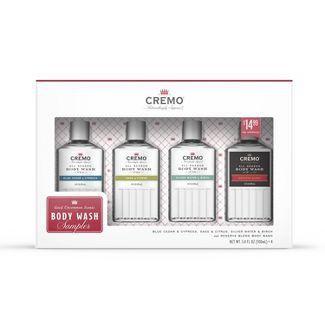 Cremo All Season Body Wash Sampler Giftset - 4pc