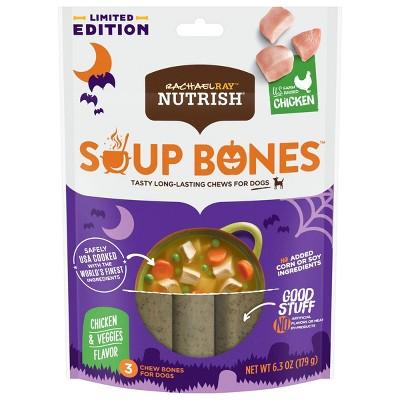 Rachael Ray Nutrish Chicken Soup Bones Halloween Dog Treats - 6.3oz