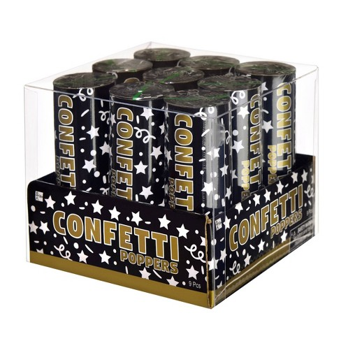 9pc Small Confetti Poppers - image 1 of 2