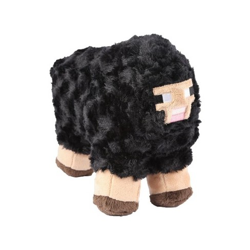 Minecraft 10 Plush Stuffed Animal Black Sheep Target