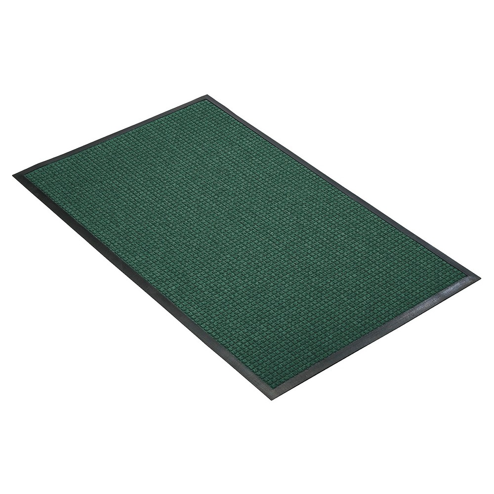 Hunter Green Solid Doormat - (3'X4') - HomeTrax