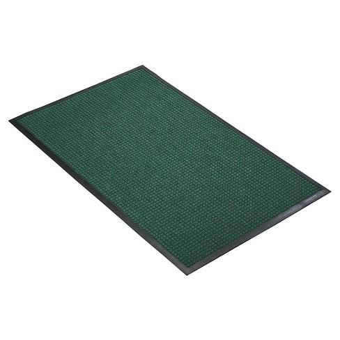 Hunter Green Solid Doormat - (3'x4') - HomeTrax - image 1 of 4