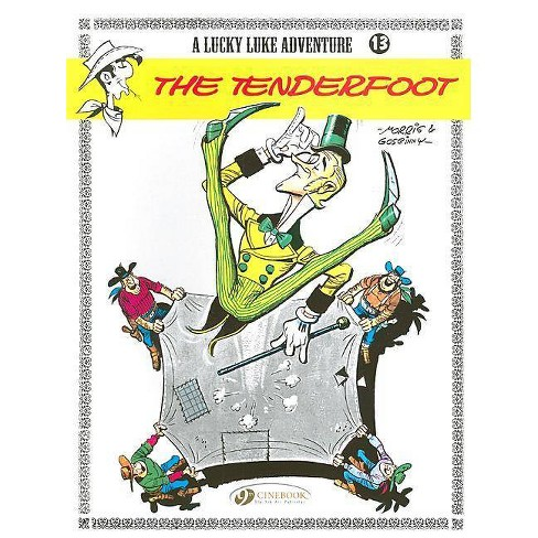 The Tenderfoot - (Lucky Luke Adventures) by  R Goscinny (Paperback) - image 1 of 1