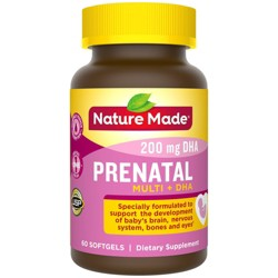 Nature Made Prenatal Multivitamin & DHA Softgels