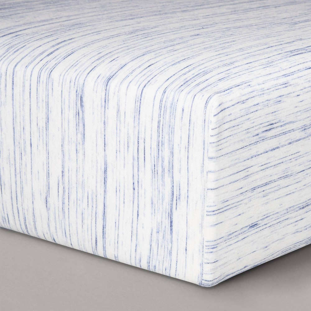 Jersey Fitted Crib Sheet Cloud Island 8482 Blue