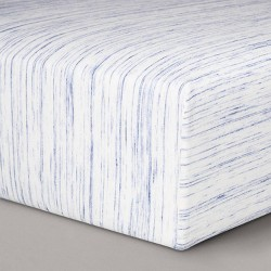 Jersey Fitted Crib Sheet - Cloud Island™ Blue