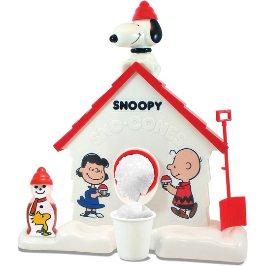 Snoopy Sno Cone Maker, real-food appliances image number null