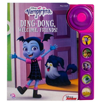 Disney Vampirina - Ding-Dong, Welcome, Friends! Dorbell Sound Book (Hardcover)