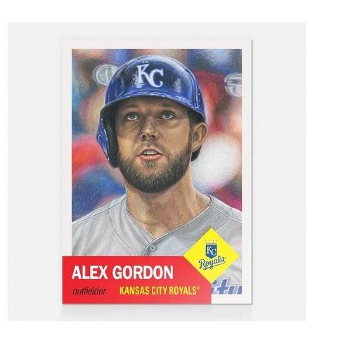 Kansas City Royals Mlb Alex Gordon Topps Living Set Card 11