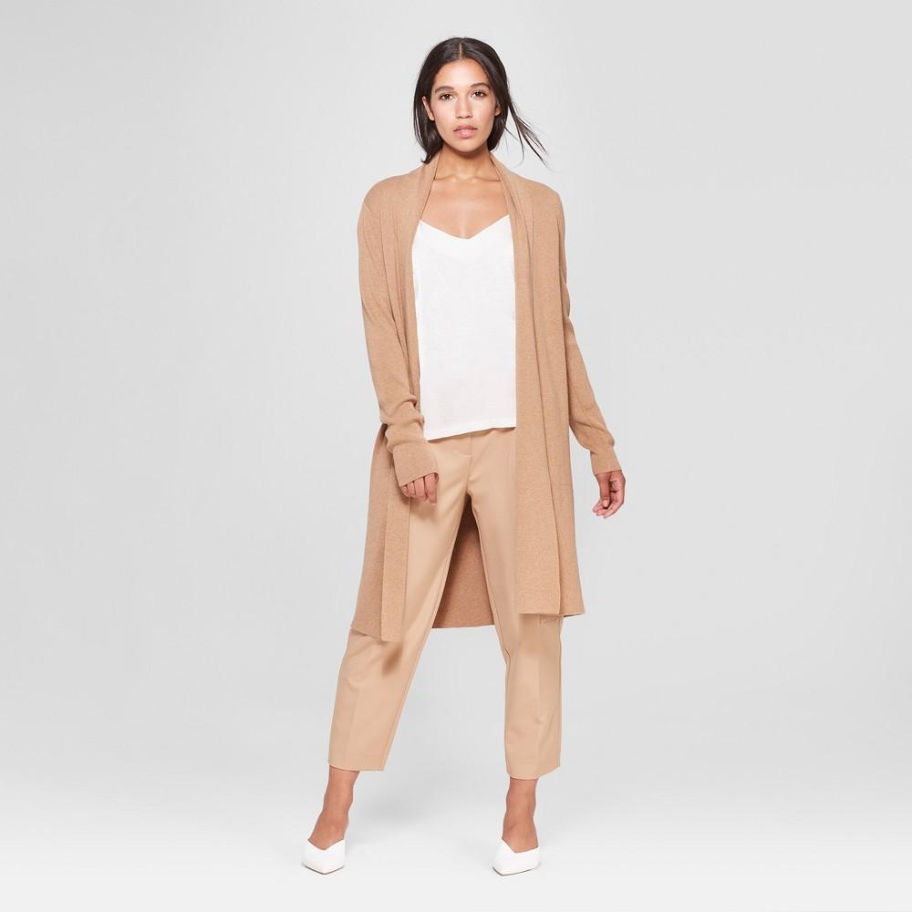 Women's Long Sleeve Cardigan - Prologue Tan M