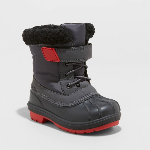 Toddler Boys' Journey Winter Boots - Cat & Jack™ Black - image 1 of 3