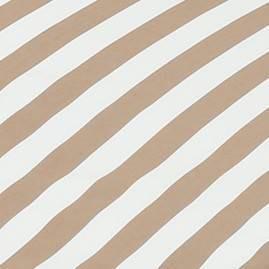 Brown/White Stripes