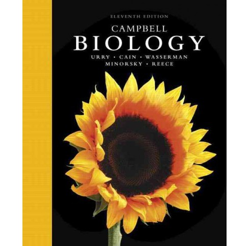 Campbell Biology (Hardcover) (Lisa A. Urry & Michael L. Cain & Steven A. Wasserman & Peter V. Minorsky & - image 1 of 1