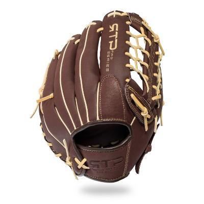 "Franklin Sports 12"" Pigskin Brown/Camel Baseball Glove - Right Hand Thrower"