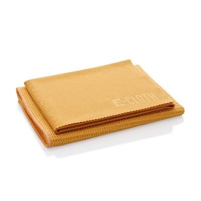 E-Cloth Window Cleaning Microfiber Cloth Set - Tangerine - 2pc