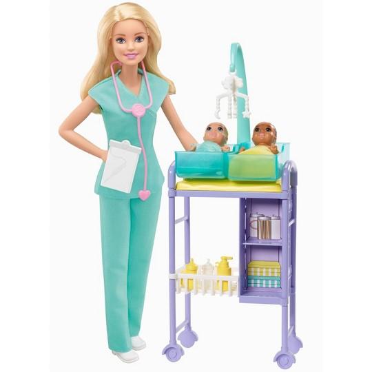 DOCTOR HOSPITAL SCRUBS ACCESSORIES 8 PIECE QUALITY SET American Girl 18 DOLLS