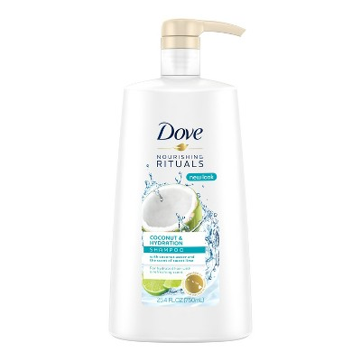 Shampoo & Conditioner: Dove Nourishing Rituals