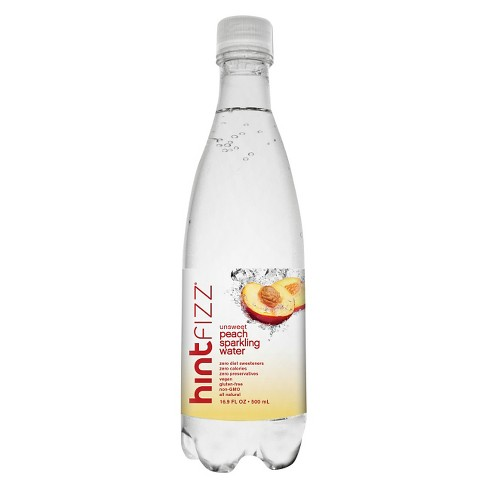 hint Fizz Peach Sparkling Water - 16.9 fl oz Bottle - image 1 of 1