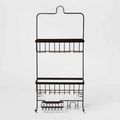 Bathroom Shower Caddy Black - Made By Design™