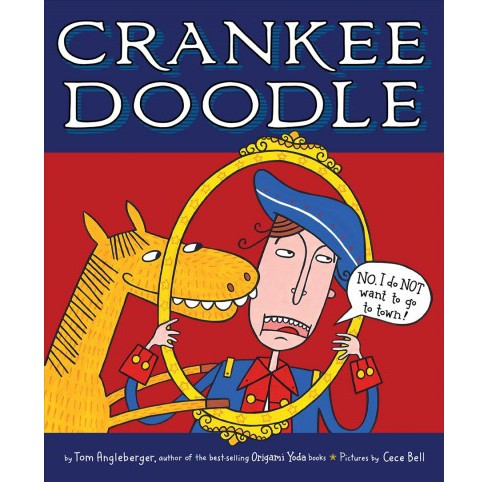 Crankee Doodle -  Reprint by Tom Angleberger (Paperback) - image 1 of 1