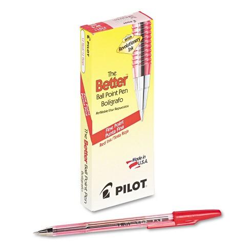Pilot Better Ball Point Stick Pen Red Ink .7mm Dozen 37011 - image 1 of 1
