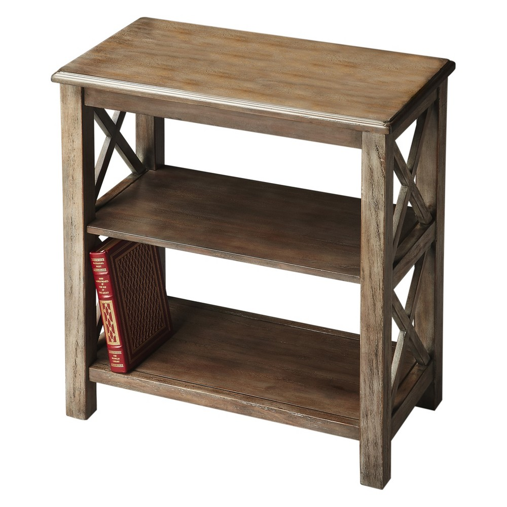 "Image of ""25"""" Vance Bookcase Dusty Trail Oak - Butler Specialty"""