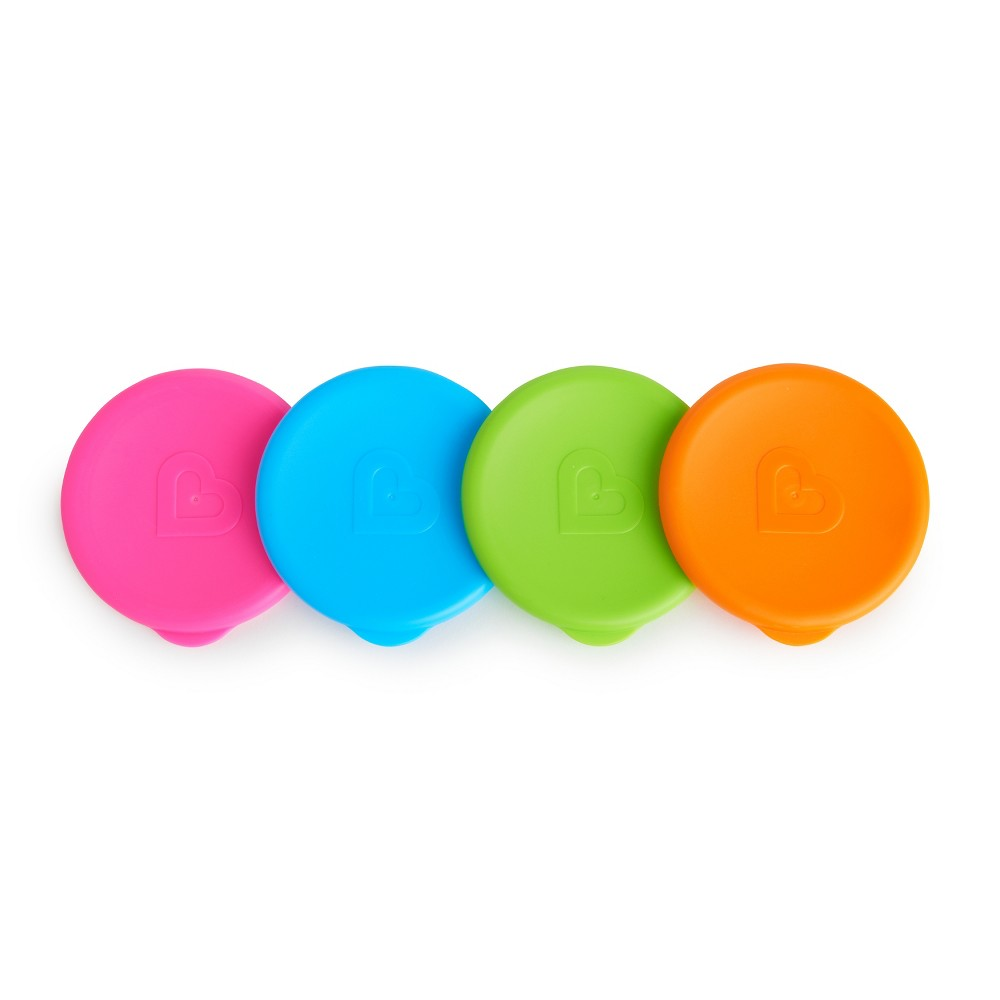 Image of Munchkin 4pk Miracle 360 Toddler Cup Snap-on Lids